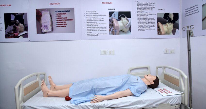 4. Procedural skills lab for basic nursing care