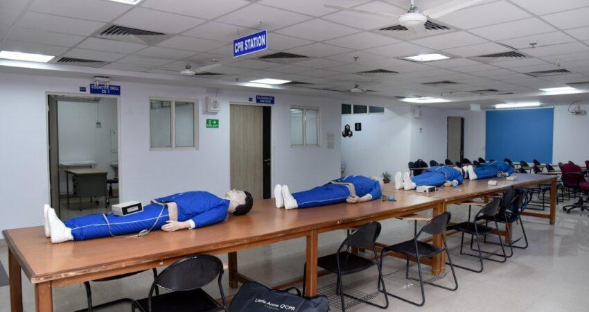 5. Cardiopulmonary resuscitation station